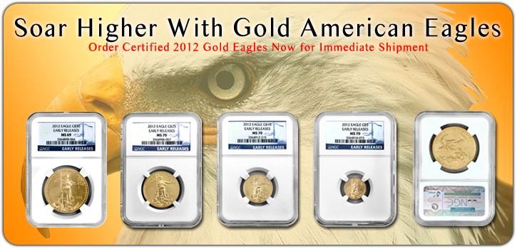 2012 Gold American Eagles