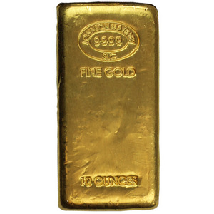 Johnson Matthey 10oz .9999 Gold Bar