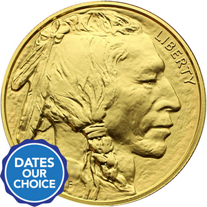 Gold Buffalo 1oz UNC Date Our Choice
