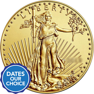 Gold American Eagle 1oz BU Date Our Choice
