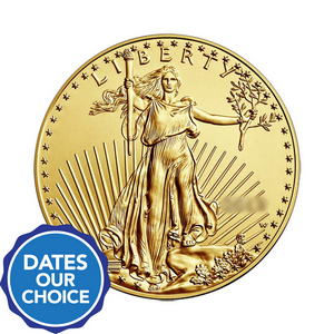 Gold American Eagle Half Ounce Date Our Choice