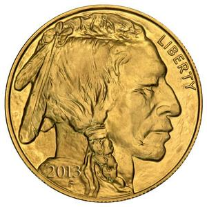 2013 Gold Buffalo 1oz BU