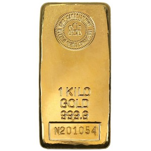 .9999 Gold 1 Kilo Bar Our Choice Mint