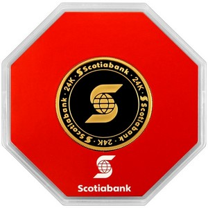 Scotiabank 1oz Gold Round