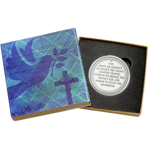 Serenity Prayer 1oz .999 Silver Medallion