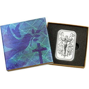 Jesus on the Cross 1oz .999 Silver Bar