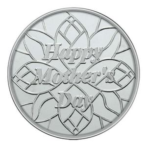 Mothers Day 1oz .999 Silver Medallion Dated 2013