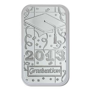 2013 Graduation 1oz .999 Silver Bar