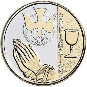 Confirmation 1oz .999 Silver Medallion Gold Plated