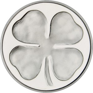Four Leaf Clover 1oz .999 Silver Medallion