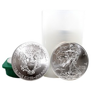 2012 Silver American Eagle BU Tube of 20