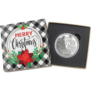 2015 Milk and Cookies for Santa 1oz .999 Silver Medallion
