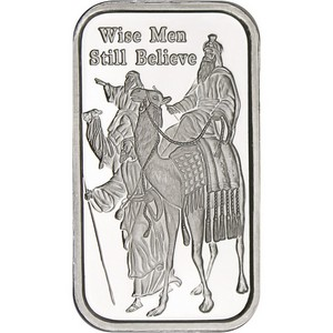 2014 Wise Men Still Believe 1oz .999 Silver Bar