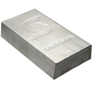 Scotiabank 100oz .999 Silver Bar