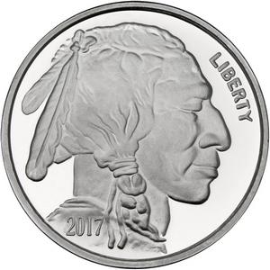 2016 Buffalo Replica 1oz .999 Silver Medallion