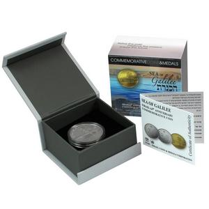 2012 Israel Sterling Silver Sea of Galilee 14.4g Proof