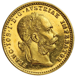 Austria Gold 1 Ducat Date Our Choice UNC