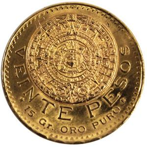 Mexico Gold 20 Peso