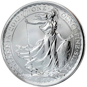 2012 Great Britain Silver Britannia 1oz BU