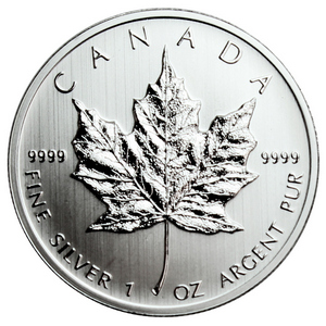 2013 Canada Silver Maple Leaf 1oz BU