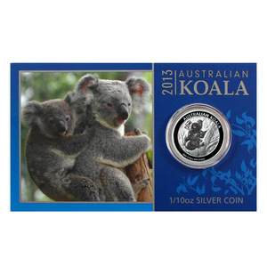 2013 P Australia Silver Koala Tenth Ounce BU Coin