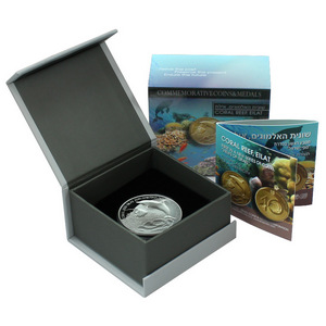 2012 Israel Sterling Silver Coral Reef 28.8g Proof