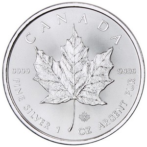 2014 Canada Silver Maple Leaf 1oz BU