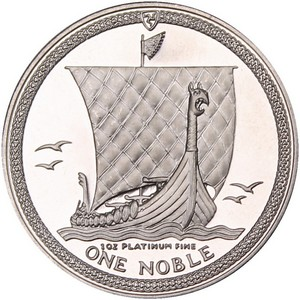Isle of Man Noble 1oz Platinum Date Our Choice