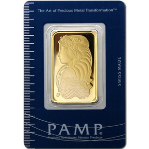 Pamp Suisse Fortuna 1oz Gold Bar
