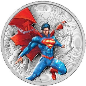 2014 Canada Silver $20 Iconic Superman Comic Book Covers: Superman Annual #1 1oz PF in OGP