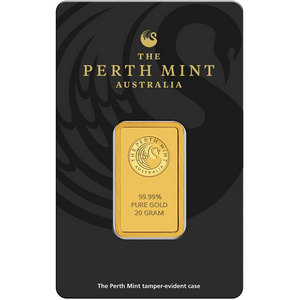 Australian Perth Mint 20 Gram Gold Bar
