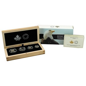 2015 Canada Silver Fractional Bald Eagle Proof Set in OGP