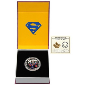 2015 Canada Silver $20 Iconic Superman Comic Book Covers: Superman #28 (2014) 1oz PF in OGP