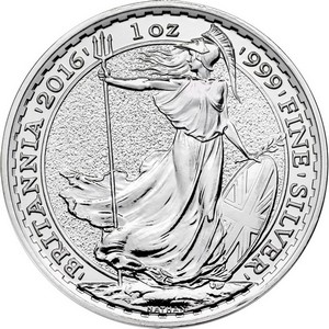2016 Great Britain Silver Britannia 1oz BU