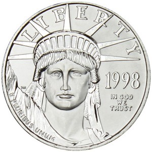 Platinum American Eagle Half Ounce Date Our Choice