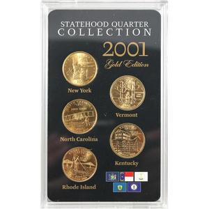 Statehood Quarter Collection Commemorative 5 Different Sets Mintmark and Set Our Choice