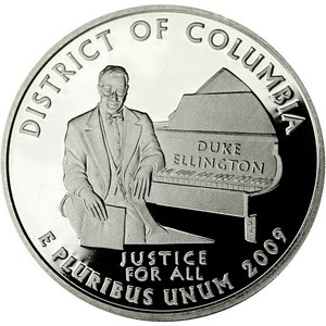 2009 S Clad District of Columbia US Territories Quarter PF