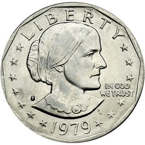 1979 S Susan B Anthony Dollar BU