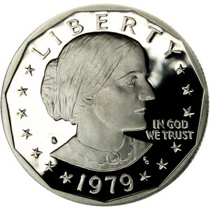 1979 S Susan B Anthony Dollar PF Type 1