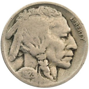 1923 Buffalo Nickel AG/G