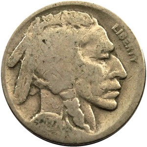 1927 S Buffalo Nickel F/VF
