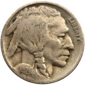 1928 D Buffalo Nickel F/VF