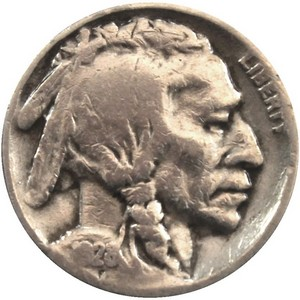 1928 S Buffalo Nickel F/VF
