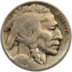 1929 D Buffalo Nickel F/VF