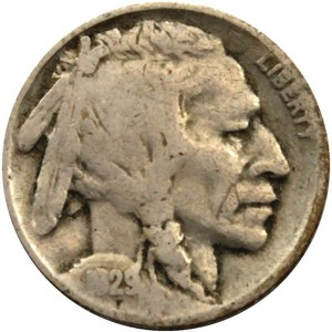 1929 Buffalo Nickel G/VG