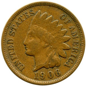 1909 S Indian Head Cent G/VG
