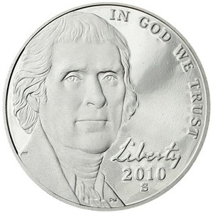 2010 S Jefferson Nickel PF