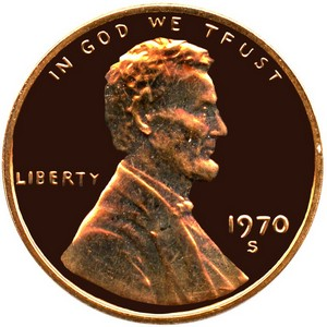 1989 S Lincoln Cent Memorial Reverse PF