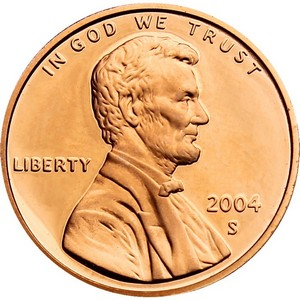 2004 S Lincoln Cent Memorial Reverse PF