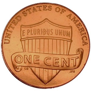 2010 D Lincoln Union Shield Cent BU